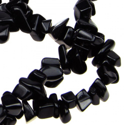ONYX Gemstone Chip Beads Strand 5-7 mm ~ 90 cm