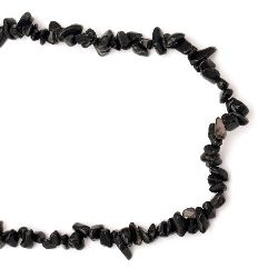 FALCON'S EYE Gemstone chip Beads Strand  5-7 mm ~ 90 cm