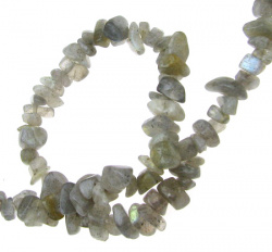 Gemstone chip Beads Strand  5-7 mm ~ 90 cm LABRADORITE