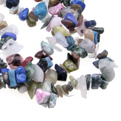 Gemstone Chip Beads Strand 5-7 mm ~ 90 cm MIX