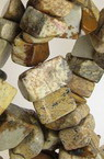 Ιάσπις ημιπολύτιμες χάντρες τσιπς 8-12 mm ~ 90 cm
