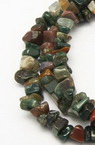 Natural Indian Agate Chip Beads Strand 8-12mm ~ 90cm  ~ 157 pieces