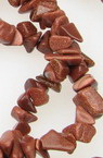 Gemstone Chip Beads Strand 5-7mm, ~ 90cm GOLDSTONE