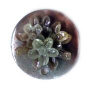 Pandantiv mat perlă rotundă de 25 mm