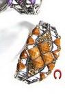 Гривна метал кристали пластмаса