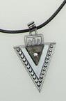 Гердан шнур метал кристали