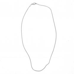 Синджир цвят бял ЛУКС 28-30 см