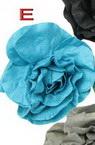 Брошка фиба текстил филц АСОРТЕ