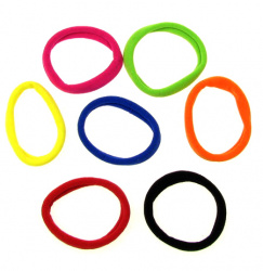 Elastic Hair Tie 65x8 mm. ASSORTE