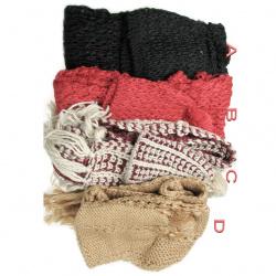Шал шапка плетени 210 см