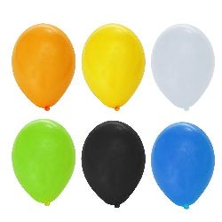 Party Balloons color MIX -10 pieces