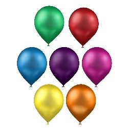 Assorted color balloons for Birthday Party Halloween Decoration -20 pieces