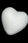 Inimă din polistiren 57 mm pentru decorare -10 bucăți