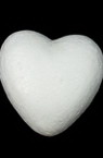 Styrofoam Heart for decoration gifts craft 70 mm