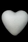 Styrofoam, Heart, 80mm, 5 pcs