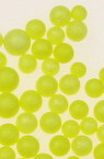 Styrofoam, Round, Yellow, 3~5mm, 1 gram, ~2400 pcs
