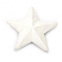 Звезда стиропор 80x30 мм за декорация -2 броя