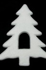 Pom de Craciun din polistiren 160x124x16 mm -2 bucati