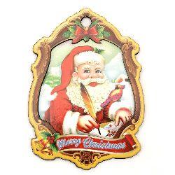 Сувенир 160x115x5 мм МДФ Дядо Коледа