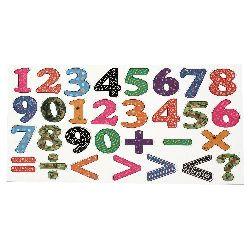 Цифри и знаци с магнит -30 броя