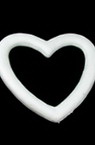 Polystyrene Heart Craft & Decoration 230 mm, DIY Craft Decoration Valentines Day