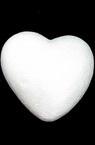 Inimă din polistiren 95x95 mm pentru decor -2 buc