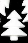 Styrofoam figure 80 x 70 x 25 mm Christmas Tree, Christmas New Year Decoration