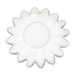 Styrofoam sunflower 140 mm for decoration -1 pc