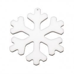 Styrofoam Snowflake, 100x6 mm
