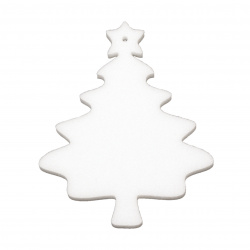 Styrofoam Christmas Tree, 100x80x6 mm