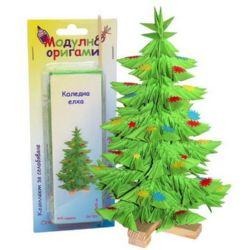 Modular Origami Set, Christmas Tree