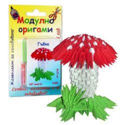 Modular Origami Set, Mushroom