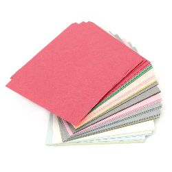 Хартия за оригами и декорация 12x12 см 12 цвята 240 листа