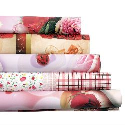 DIY Wrapping Paper Flowers Mixed 51x74cm
