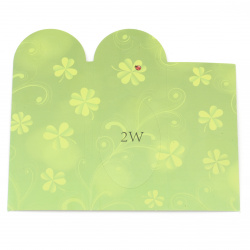 Jewelry packaging 130x150 mm clover -10 pieces