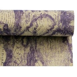 DIY Wrapping Paper Purple 51x77 cm