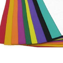 EVA Foam MIXED Colors, 10 Sheets 20x27cm 1mm Scrapbooking & Craft Decoration