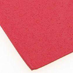 Material EVA / cauciuc microporos / 2 mm A4 20x30 cm roșu