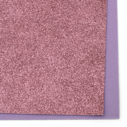 EVA Foam Glitter Pink, A4 Sheet 20x30cm 2mm