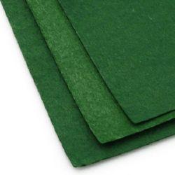 Foaie de pâslă, Artizanat DIY Decor de cusut 1 mm A4 20x30 cm culoare verde închis -1 bucată