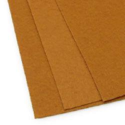 Felt Sheet, DIY Crafts Sewing Decoration1 mm A4 20x30 cm color beige dark -1 piece
