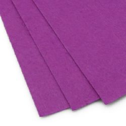 Felt Sheet, DIY Crafts 1 mm A4 20x30 cm color purple -1 pc