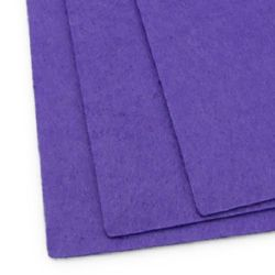 Feltă 1 mm A4 20x30 cm culoare violet închis -1 bucată
