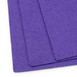 Felt Sheet, DIY Crafts 1 mm A4 20x30 cm color purple dark -1 piece