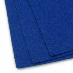 Fabric Felt Sheet, DIY Crafts Sewing Decoration 1 mm A4 20x30 cm color blue dark -1 pc