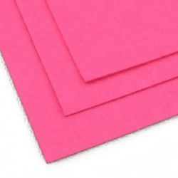 Филц 1 мм A4 20x30 см цвят розов светло -1 брой