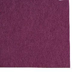 Fabric Felt Sheet, DIY Crafts Sewing Decoration 2mm A4 20x30 cm color purple -1 pc