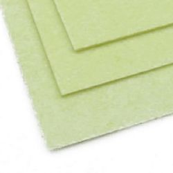 Acrylic Felt Sheet, DIY Craft Handmade 2mm A4 20x30 cm ivory -1 pc