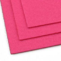 Fabric Felt Sheet, DIY Crafts Sewing Decoration 2 mm A4 20x30 cm color pink -1 pc