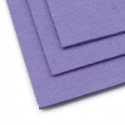 Fabric Felt Sheet, DIY Crafts Sewing Decoration 2mm A4 20x30 cm purple purple -1 piece